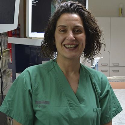 M Leonor Escobar Auxiliar Broncoscopia Hospital Clínico Universitario de Valencia