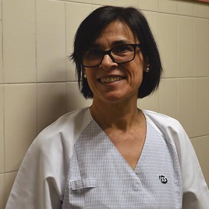 Manoli Millán Limpieza Neumología Hospital Clínico Universitario de Valencia