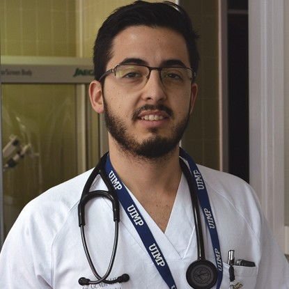 Santos Ferrer Residente de Neumologia Hospital Clínico Universitario de Valencia