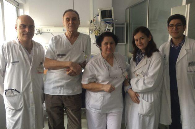 Unidad de cuidados respiratorios del Clínico Universitario de Valencia
